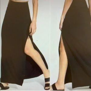 Athlete Marina black maxi skirt XS